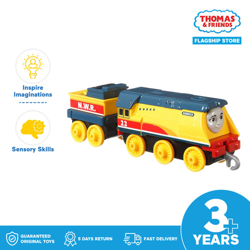 Foto Produk Thomas & Friends TrackMaster Push Along Engine (Rebecca) -Mainan Anak dari Thomas & Friends