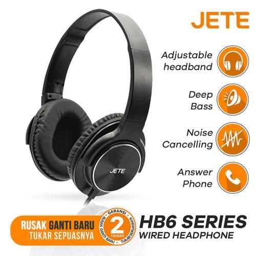 Foto Produk Headset | Headphone JETE HB6 Stereo Sound Full Bass - Garansi 1th dari Doran Gadget
