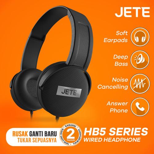 Foto Produk Headset | Handsfree | Headphone Bando JETE HB5 - Abu-abu dari JETE Official Surabaya