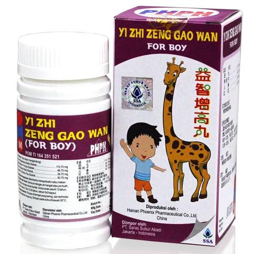 Foto Produk Obat peninggi badan anak-anak cap jerapah - BOY dari Toko Obat Tjong Hwa