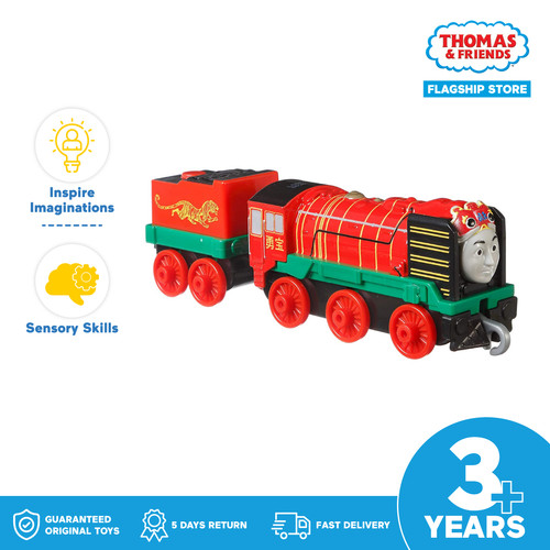 Foto Produk Thomas and Friends TrackMaster Push Along (Yong Bao) - Mainan Kereta dari Thomas & Friends