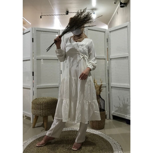 Foto Produk Tunik Fashion Wanita Muslim Terbaru Termurah   Villi Tunic dari Covering Story