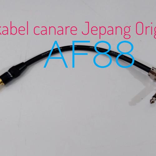 Foto Produk kabel jumper efek gitar 15cm jack pipih ke jack lurus dari Af88