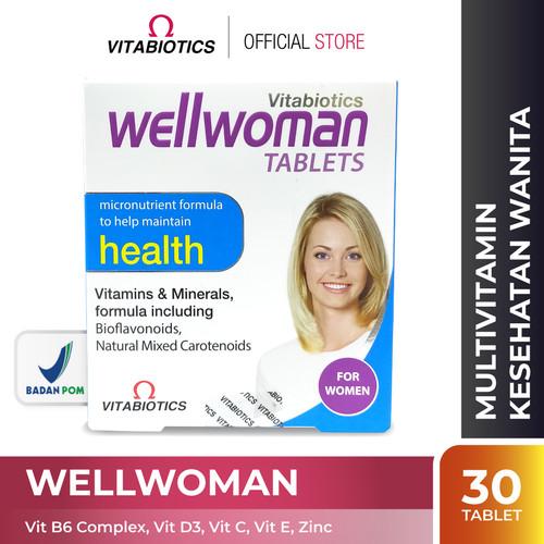 Foto Produk Vitabiotics Wellwoman Suplemen Kesehatan Wanita dari Vitabiotics Indonesia