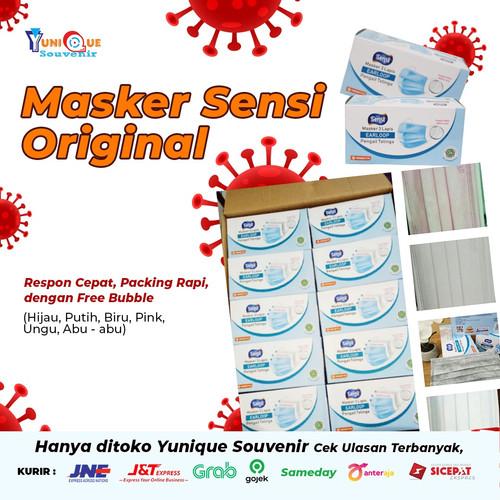 Foto Produk sensi masker earloop 3ply dari Yunique Souvenir