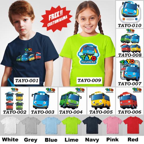 Foto Produk [HOT ITEM!!] Kaos / Baju Anak Tayo Little Bus - Size 3, White dari Little Orca
