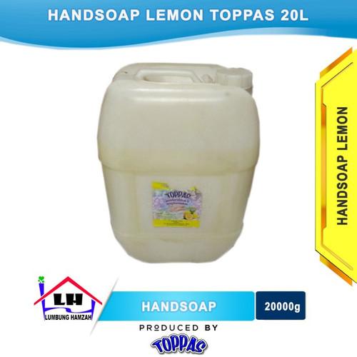 Foto Produk Hand Soap Lemon 20L TOPPAS Mutu TOP Harga Pas Instant/Sameday dari Toko Sabun Hamzah