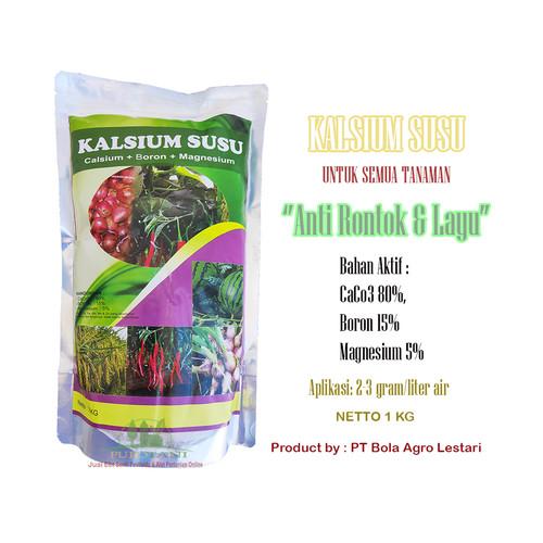 Foto Produk Pupuk Kalsium Susu Untuk Tanaman 1kg Anti Rontok & Layu dari Purotani.ID