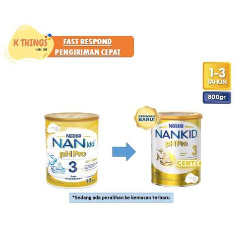 Foto Produk NAN pH Pro 3 800 gr | Nan Kid 3 800gr Nestle (Susu Alergi) MURAH! - Mulus dari K Things