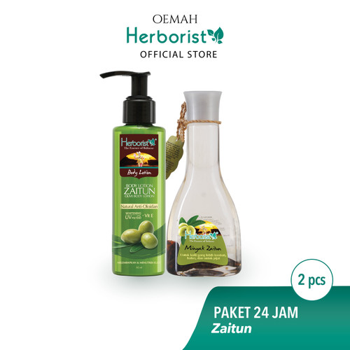 Foto Produk Herborist Paket Zaitun - Perlindungan 24 Jam dari Oemah Herborist