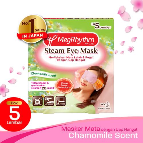 Foto Produk MegRhythm Steam Eye Mask Chamomile 5s dari KAO Official Store