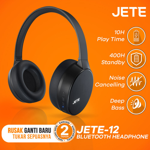 Foto Produk Headset   Handsfree   Headphone Bluetooth JETE 12 dari JETE Official Surabaya