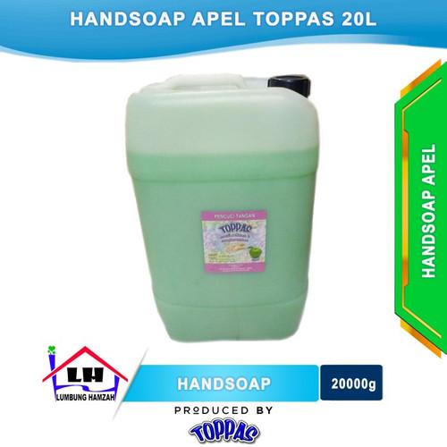 Foto Produk Hand Soap Apel 20L TOPPAS Mutu TOP Harga PAS Instant/Sameday dari Toko Sabun Hamzah