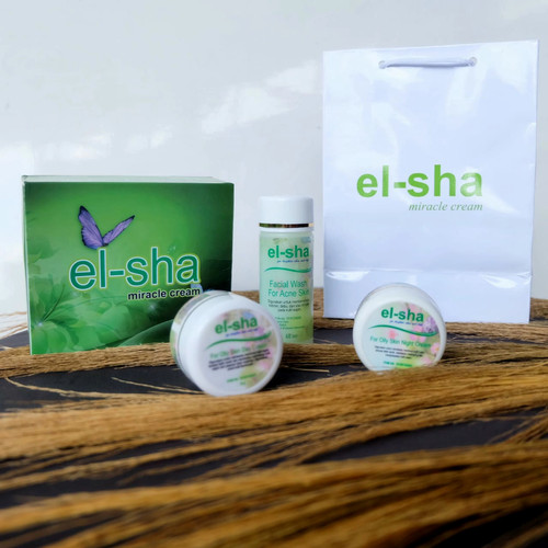 Foto Produk el-sha miracle cream FOR ACNE / Olily Skin dari el-sha miracle cream