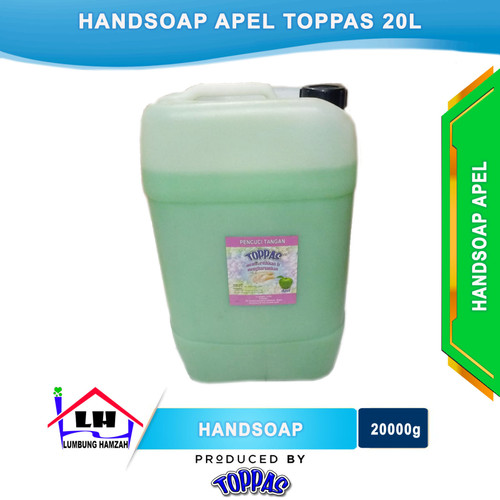Foto Produk Hand Soap Apel 20L TOPPAS Mutu TOP Harga PAS dari Toko Sabun Hamzah