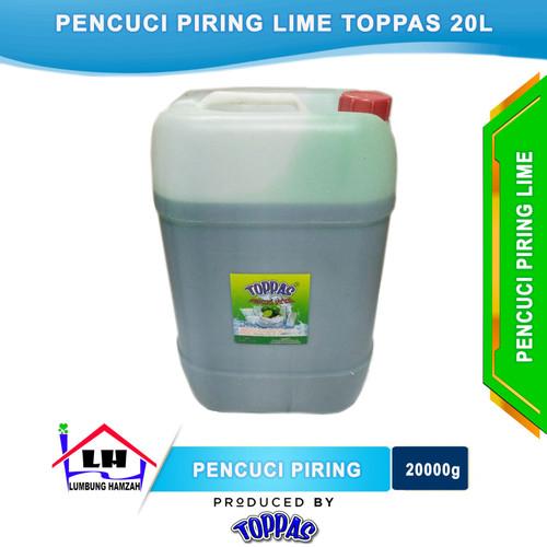 Foto Produk Pencuci Piring Lime 20L TOPPAS Mutu TOP Harga PAS dari Toko Sabun Hamzah