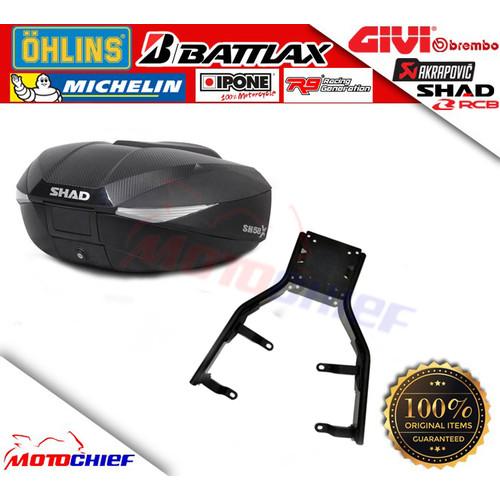 Foto Produk Shad Bundling Paket Top Box SH58X dan Bracket Honda ADV 150 dari Motochiefdotnet