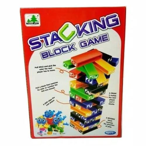 Foto Produk Uno Stacko Kecil Stacking Block Game dari Ruphen Shop