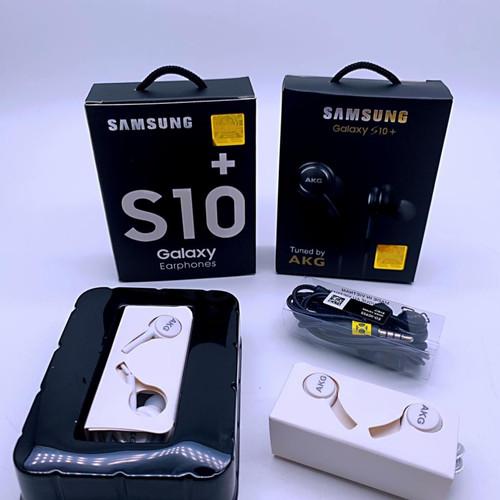 Foto Produk HF/HEADSET SAMSUNG S10PLUS PACKING IMPORT dari 933 Jaya Official Store