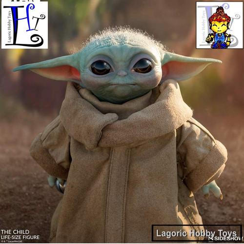 Foto Produk Sideshow Star Wars Mandalorian the Child (Baby Yoda Grogu) Figure dari Lagoric Hobby Toys