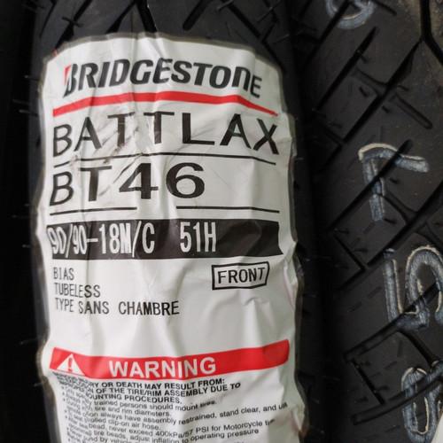 Foto Produk PAKETAN BAN LUAR BATTLAX BT46 UK 90/90-18 & BT 46 UK 100/80-18 dari Motochiefdotnet