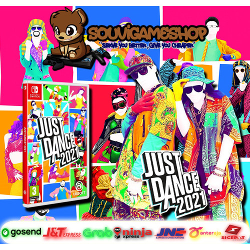 Foto Produk Nintendo Switch Just Dance 2021 / JustDance21 / Just Dance 21 & POUCH - GAME ONLY dari souvigameshop