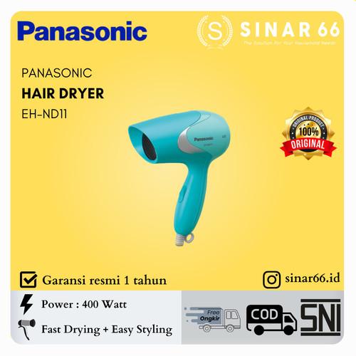 Foto Produk PANASONIC HAIR DRYER PENGERING RAMBUT KECIL LOW WATT 400 W EH-ND11 - Merah Muda dari Toko Sinar 66