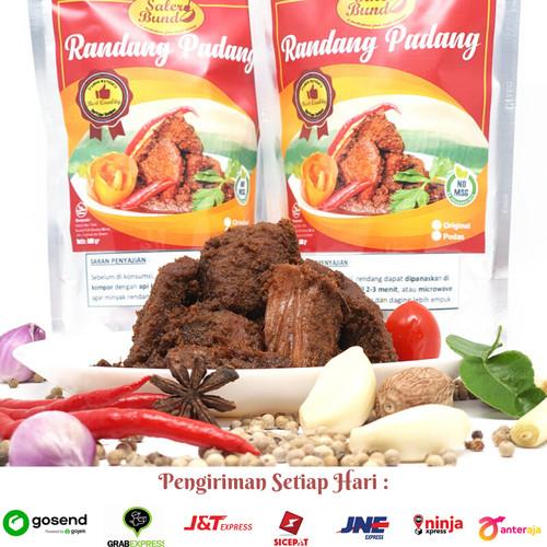 Foto Produk TERLARIS RENDANG PADANG DAGING SAPI SALERO BUNDO 1/2 KG - Pedas dari Adelsa Baby & Kids