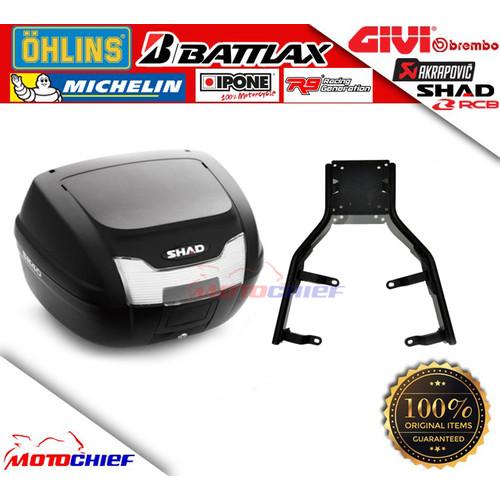 Foto Produk Shad Bundling Paket Top Box SH40 dan Bracket Honda ADV 150 dari Motochiefdotnet
