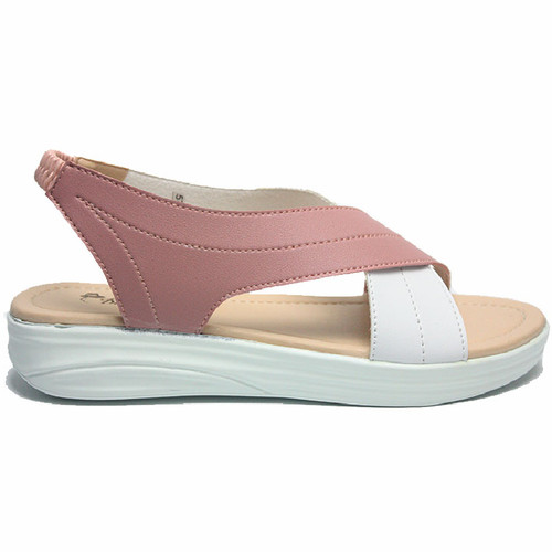 Foto Produk Dr. Kevin Women Flat Sandals 571-550 - Salem/Putih - Salem/Putih, 37 dari Dr Kevin Shoes
