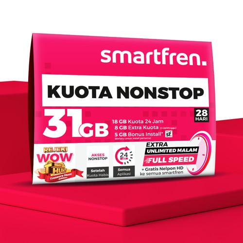 Foto Produk KARTU PERDANA NON STOP SMARTFREN 18 GB dari Smartfren Official Store