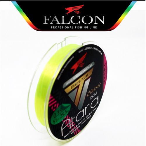 Foto Produk Senar Pancing Falcon ATARA 150 Meter Yellow Fluo - Yellow 0.35mm dari Falcon Indoesia
