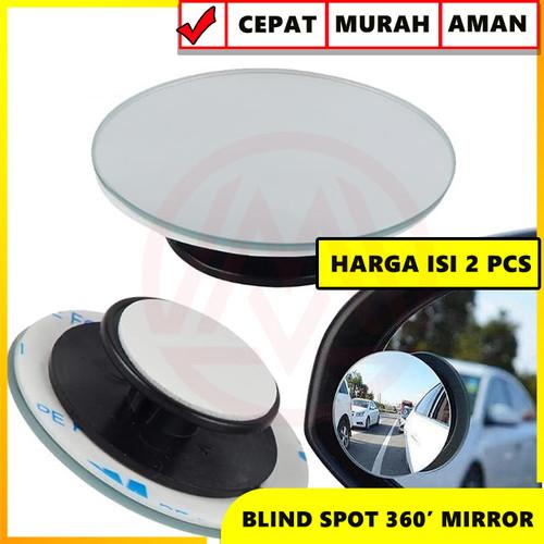 Foto Produk Kaca Spion Cermin Tambahan Blind Spot 360 Mirror 2 in 1 Adjustable dari Modifikasi Market