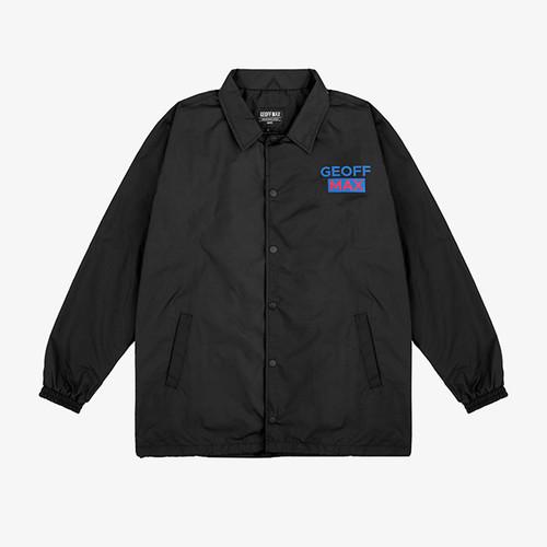 Foto Produk Geoff Max Official - Dzikama Black | Coach Jacket | Jacket Pria - S dari Geoff Max Official