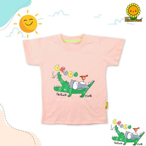 Foto Produk Himawari Baju Kaos Anak Premium Katun T-Shirt Unisex - BAGIAN 1 - FRIEND TIME, S ( 1-2 TAHUN ) dari himawaribabyshop