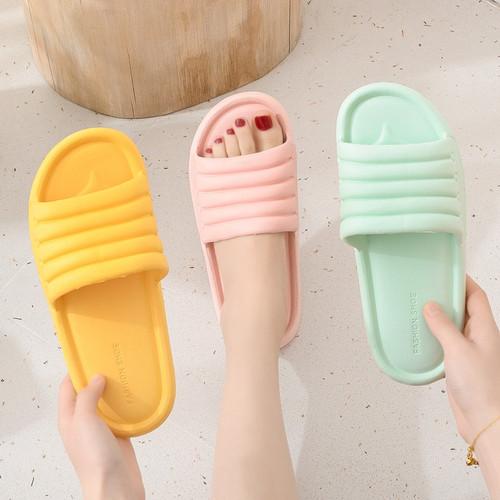 Foto Produk SH08 Sandal Import EVA Candy Color Indoor Outdoor Rumah Kamar Mandi - brown, 44/45 dari EnnWen Online Store