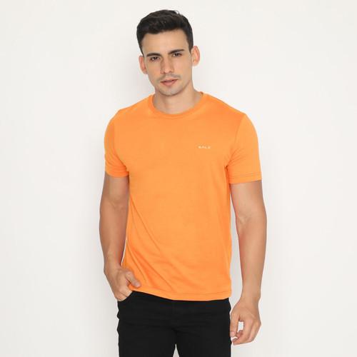 Foto Produk Kale Kaos Polos Cotton Combed 30S Lengan Pendek - Arion Variasi Yellow - Orange, S dari Kale Clothing