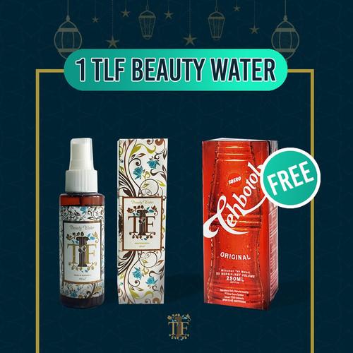 Foto Produk Mega Bonus 1 pcs TLF Beauty Water FREE 1 pcs Tea Botol Kotak Sosro dari Kissforri Official