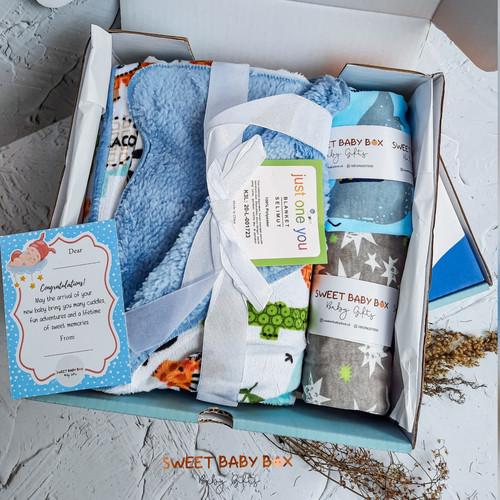 Foto Produk Baby gift / Baby hampers / Kado bayi / Kado lahiran - MINI - BOY dari sweetbabybox