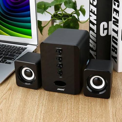 Foto Produk SADA D-202 Speaker speker aktif laptop pc komputer bass stereo dari Zamhira Store
