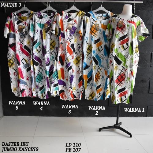 Foto Produk Daster Busui Jumbo Rayon Kancing Baju Tidur NM 3 dari Rumah Batik Pekalongan 2