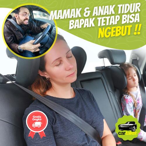 Foto Produk Car Headrest Neck Pillow Bantal Mobil Penyangga Kepala Leher - Black dari Cartakers