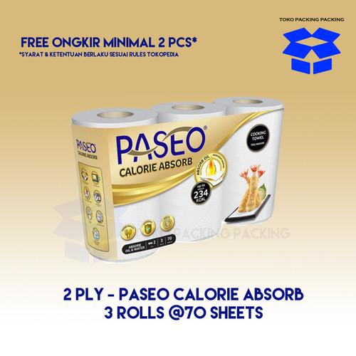 Foto Produk PASEO Tisu Dapur Calorie Absorb isi 3 ROLL - Cocok untuk Dapur dari Packing Packing