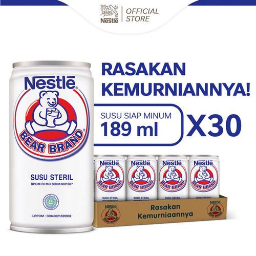 Foto Produk BEAR BRAND MILK Minuman Siap Minum 189ml [ 30 Pcs] dari Nestle Indonesia