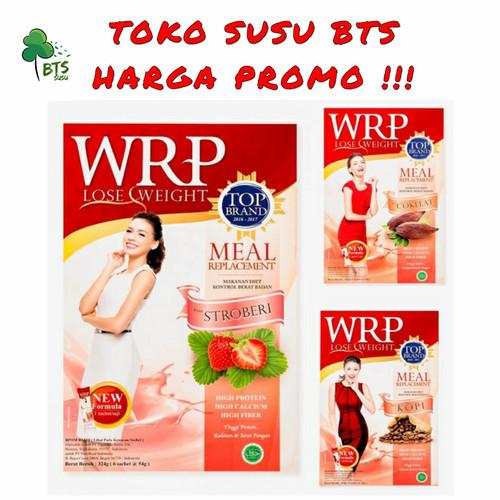 Foto Produk WRP LOSE WEIGHT MEAL REPLACEMENT ISI 6 SACHET - Coklat dari BTS SUSU