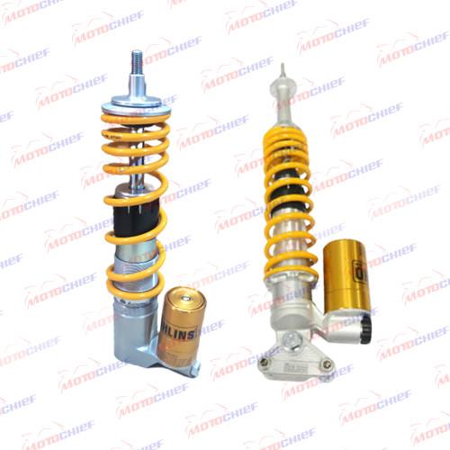 Foto Produk Shock Tabung Ohlins Front & Rear Vespa Sprint Iget Primavera S LX LXV dari Motochiefdotnet