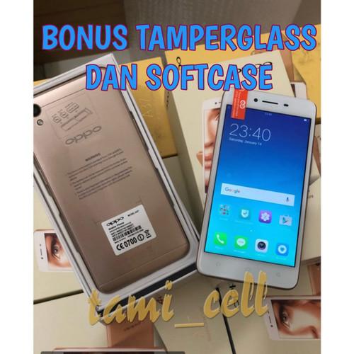 Foto Produk Oppo A37 RAM 2/16 Garansi Distributor 1 Tahun - Black & Gold - gold dari tami_cell