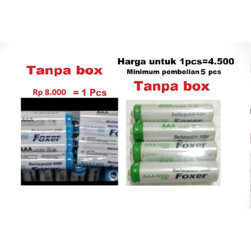 Foto Produk Baterai batre battery cas recharge rechargeable AAA aaa A3 dari Gadget Thumb