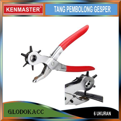 Foto Produk Alat Pembolong Gesper / Kenmaster Tang Plong dari Glodokacc