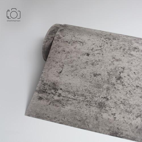 Foto Produk Background Foto Semen 120x100cm / Alas Foto PVC Waterproof Decosheet dari alasfotoprops